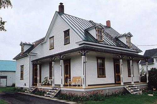 Maison rurales traditionnelles qu b coises on pinterest for Architecture quebecoise